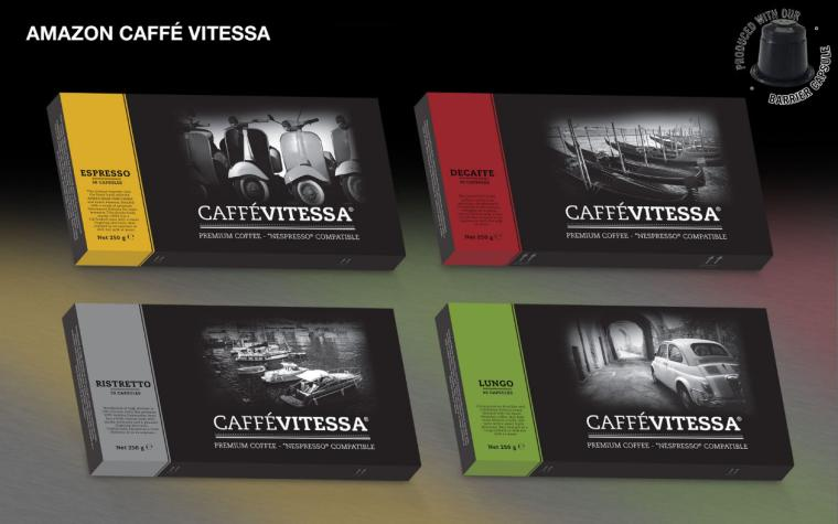 Cafe Caps and Caffeluxe Product Offering